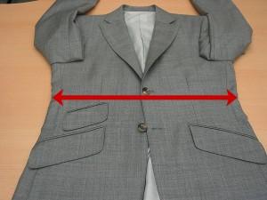ジャケット半胴寸法