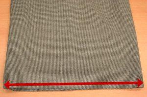 スカート・裾巾寸法